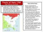 treaty of paris 1783 ends american revolution