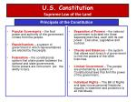 u s constitution supreme law of the land
