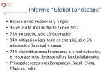 informe global landscape