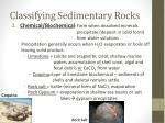 classifying sedimentary rocks1