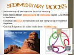 sedimentary rocks1