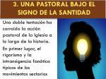 3 una pastoral bajo el signo de la santidad