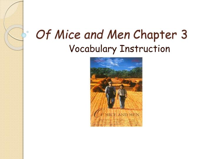 of mice and men chapter 5 What happened to lennie's puppy what is his reaction lennie's puppy died because he handled it too roughly he's sad and he's angry why is lennie angry at the dead puppy.