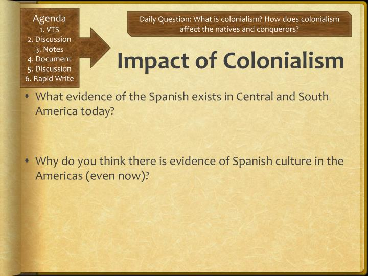 Impact of Colonialism
