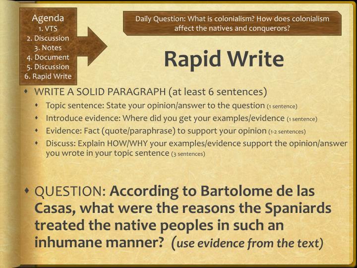 Rapid Write