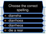 choose the correct spelling5