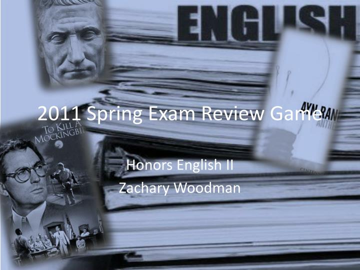 2011 spring exam review game n.