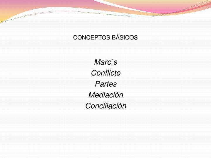 Conceptos b sicos