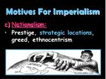 motives for imperialism3