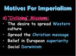 motives for imperialism4
