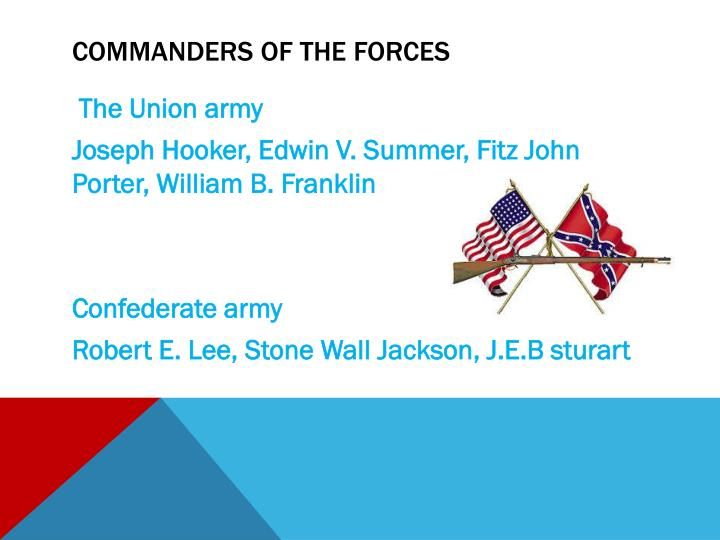 Commanders of the forces