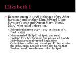 elizabeth i1