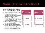 maria theresa vs fredrick i