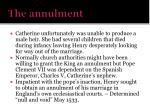 the annulment