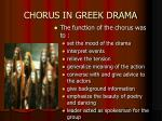 chorus in greek drama