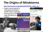 the origins of mindstorms http www wired com geekdad 2007 03 the origins of