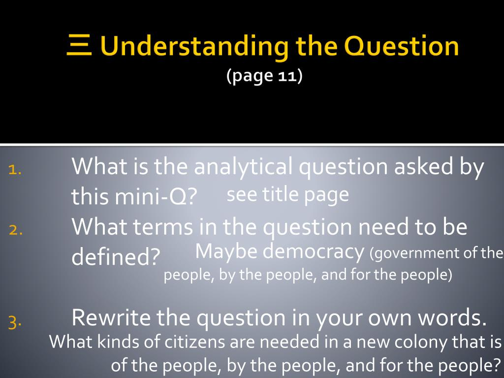 PPT - What Types of Citizen Does a Democracy Need ...