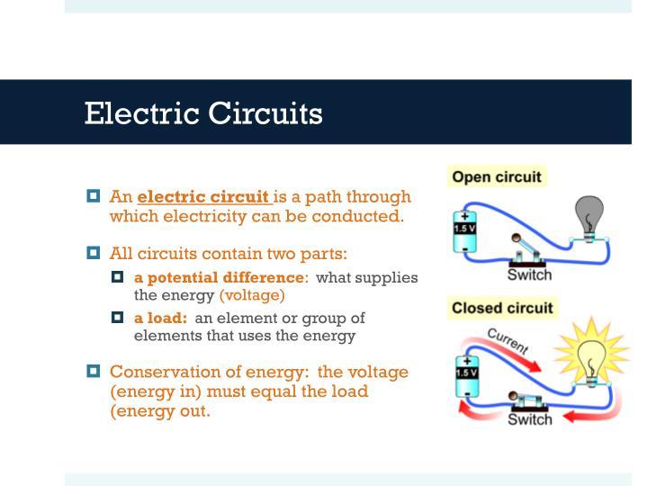 Draw Electric Circuits