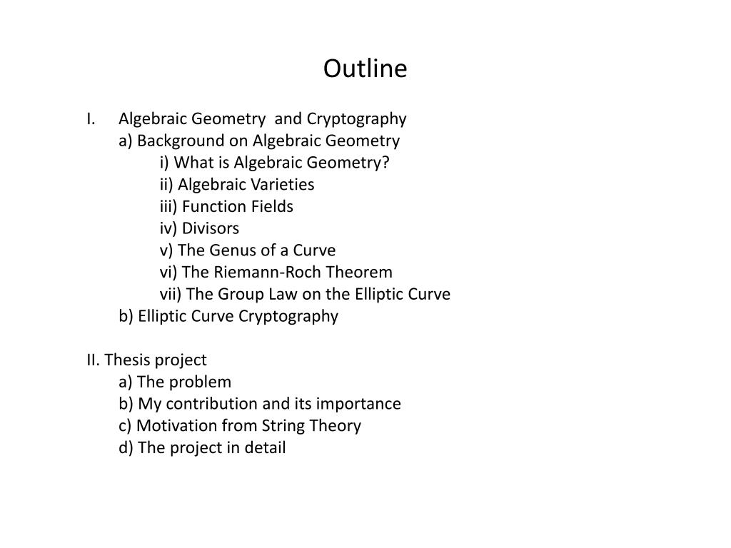 PPT - Elliptic Curve Cryptography and Curve Counting Via the Feynman