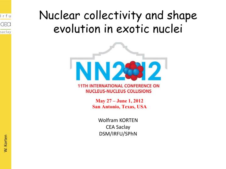 nuclear collectivity and shape evolution in exotic nuclei n.