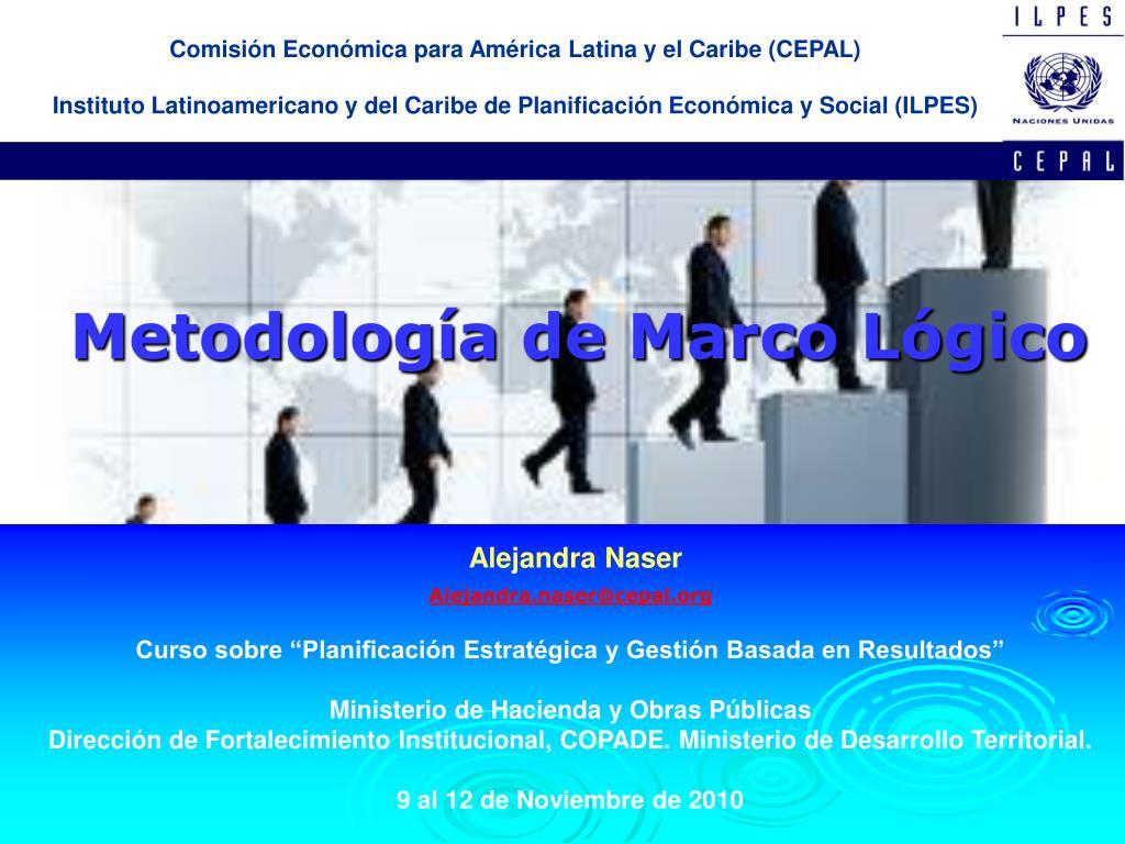 PPT - Metodología de Marco Lógico PowerPoint Presentation - ID:2273259