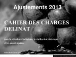 ajustements 2013