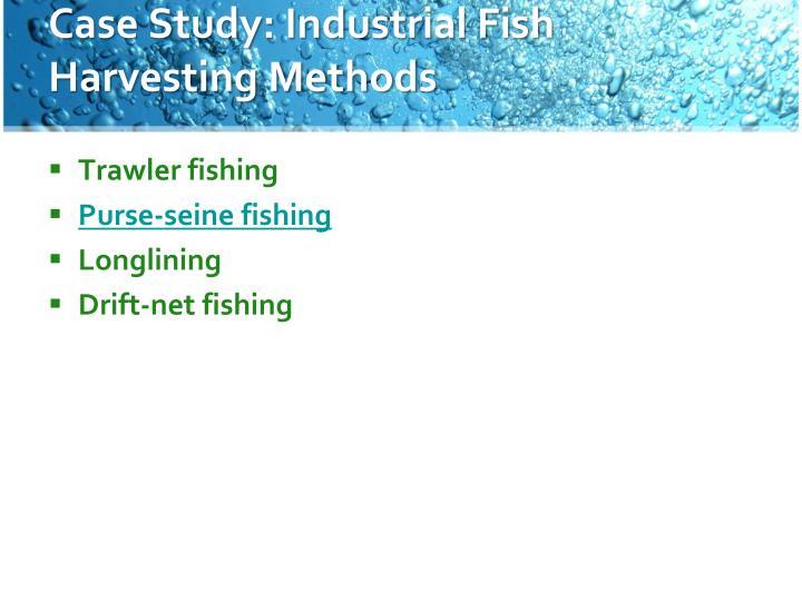 Case Study: Industrial Fish Harvesting Methods