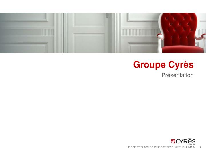 Groupe cyr s