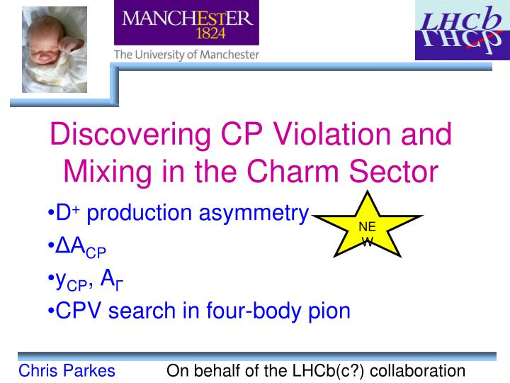 discovering cp violation and mixing in the charm sector n.
