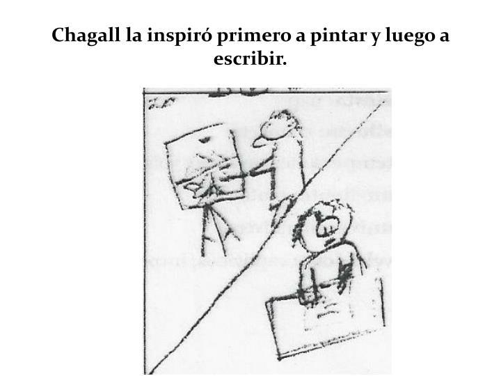 Chagall la