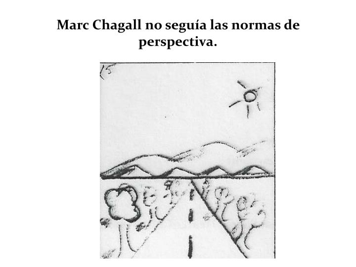 Marc Chagall no