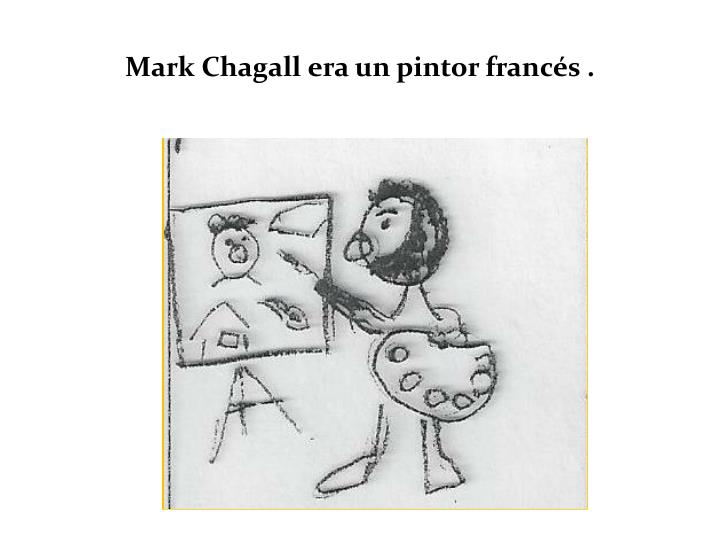 Mark chagall era un pintor franc s
