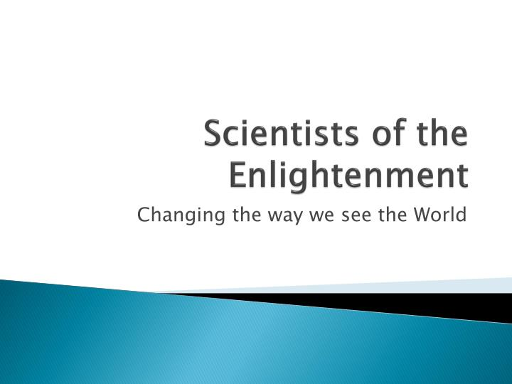 scientists of the enlightenment n.