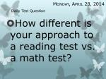 daily test question16