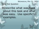 daily test question29