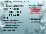 monday march 31 2014