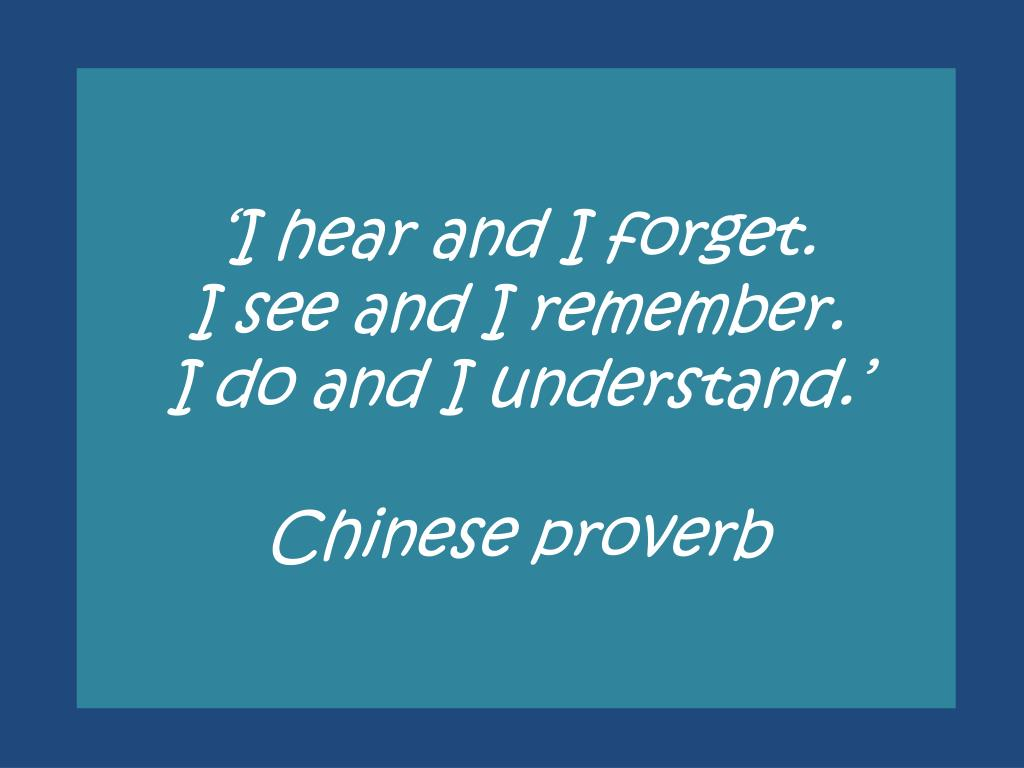 How to understand the proverb