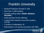 franklin university1