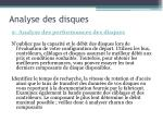analyse des disques2