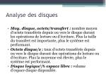 analyse des disques6