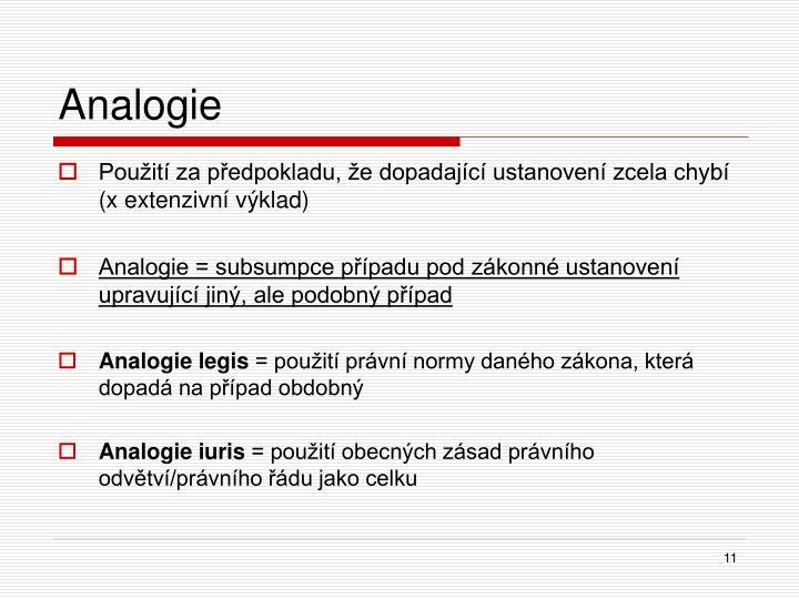 Analogie