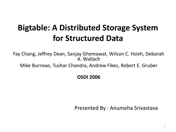bigtable a distributed storage system for structured data n.