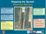 stopping the spread electrical barriers