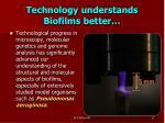 technology understands biofilms better