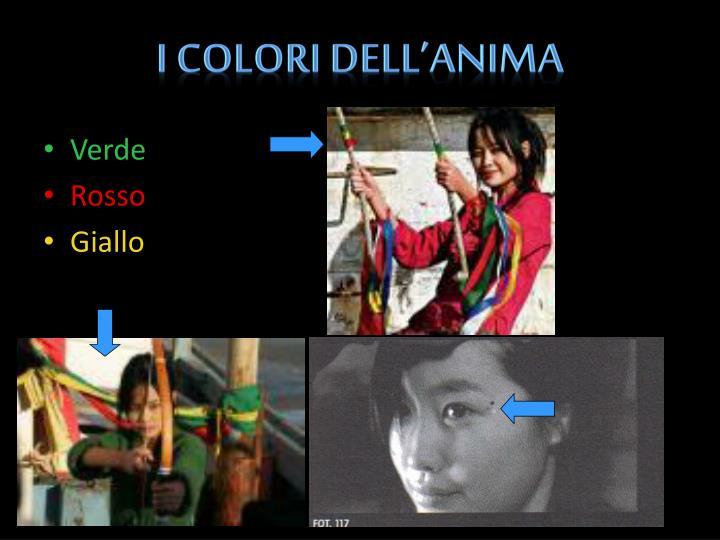 I colori dell'Anima