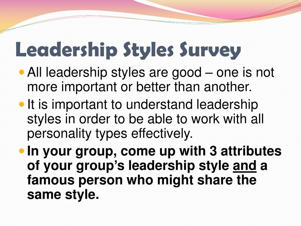 PPT - The Scope of Management Management & Leadership Styles