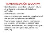 transformaci n educativa