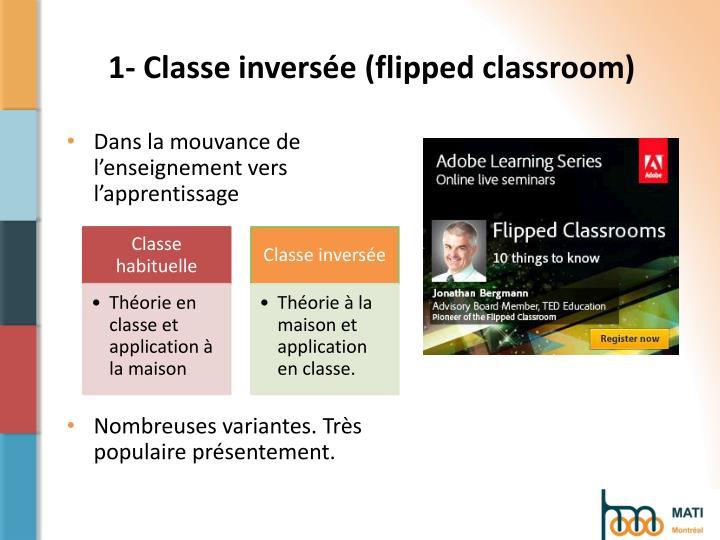 1- Classe inversée (