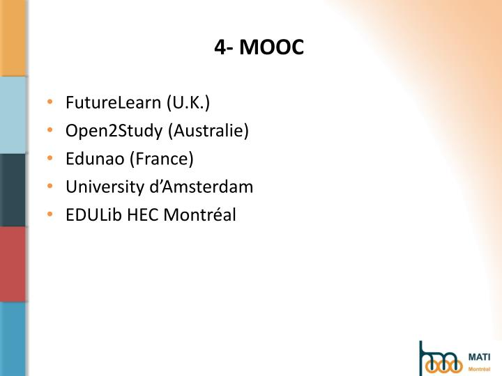 4- MOOC