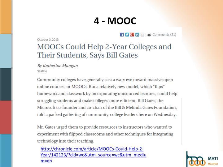 4 - MOOC